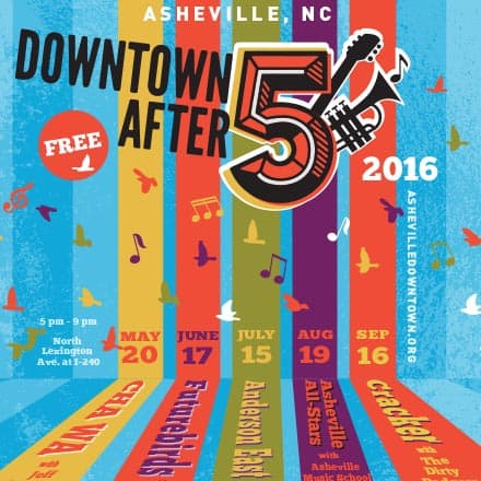 2016 ASHEVILLE DOWNTOWN AFTER 5