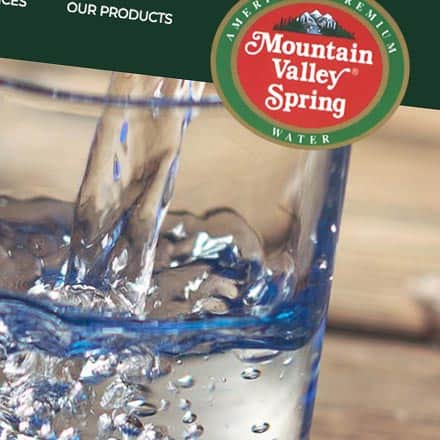 Mountain Valley Spring Water Asheville